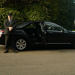 Chauffeur at Your Disposal - Mercedes Saloon Car