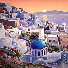 Tour of Santorini
