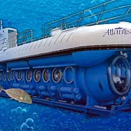Down periscope!  Submarine ride with Atlantis Adventures Kona