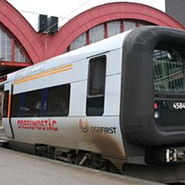 Trains from Copenhagen to Malmo