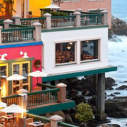 Dinner at Schooners Coastal kitchen in Monterey