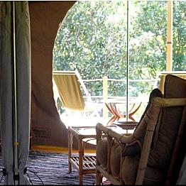 A Night of Safari Tent Camping