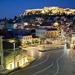 Tour of Athen's famous sights