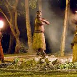 Firewalking ceremony
