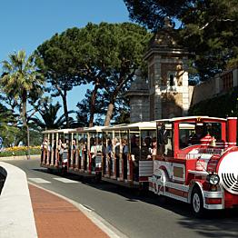 Tour of Monaco on the Azur Express