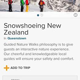 Snowshoeing New Zealand
