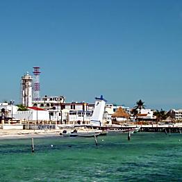 Lunch in Puerto Morelos