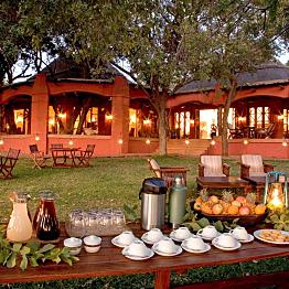 Two nights in the Chobe Chilwero Lodge
