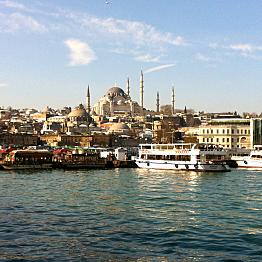Boat tour on the Bosporus
