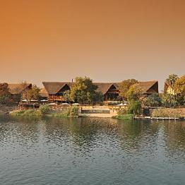 Hotel at Victoria Falls