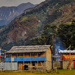 Lodging along the Annapurna Circuit (21 day Trek)