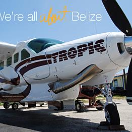 Island Hopper Flight (For 2) Ambergris Caye, San Pedro to Belize City