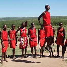 Trip to Masai village
