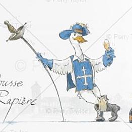 A Bottle of Pousse Rapière
