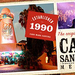 drinks at Cabo Wabo!