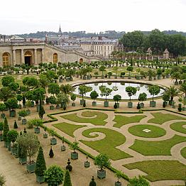 Versailles Gardens by bike