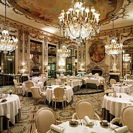 Dinner at Restaurant le Meurice