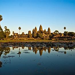 Flight to Phnom Penh, Cambodia