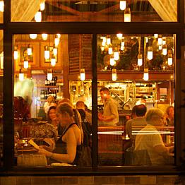 Thursday dinner at Ava Gene's - Sept 11