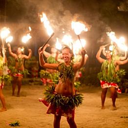 Tiki Village Dinner and Dance Show