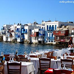 Lunch in Mykonos