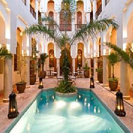 Stay in a Riad in Marrakech