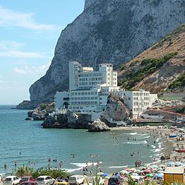 Fancy Hotel in Gibraltar