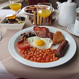 Authentic English breakfast!