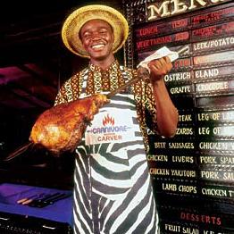 Dinner at Carnivore in Nairobi