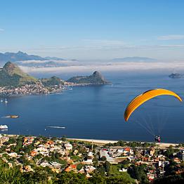 Paragliding in Rio