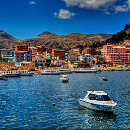 Boat Trip on Lake Titicaca