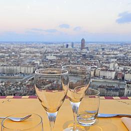 Dinner at Restaurant de Fourviere