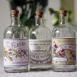 Set of Antique French Bottles
