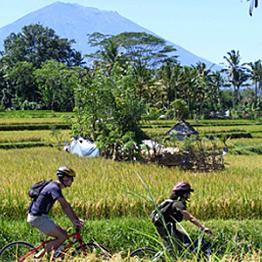 Bali eco & educational cycling tour