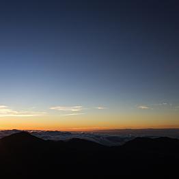 Sunrise trip to the summit of Mt Haleakala's