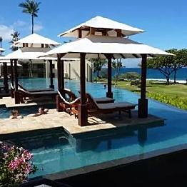 Pool cabana rental