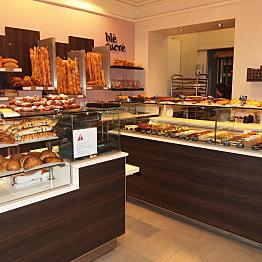Croissants and pastries at Blé Sucré, Paris