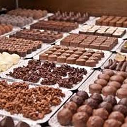 Chocolate shop tasting in Paris