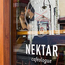Coffee at Le Nektar Espresso Bar