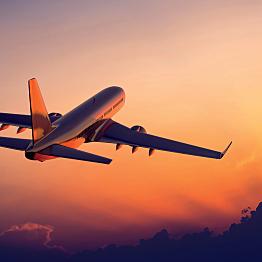 Flight to Lake Tahoe