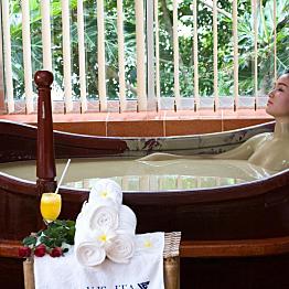 Mud Bath at Thap Ba Hot Springs
