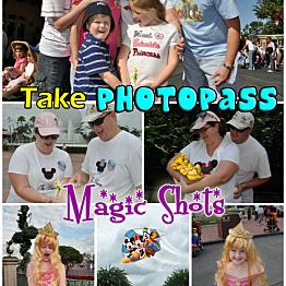 Disneyland Magic Shot Photopass