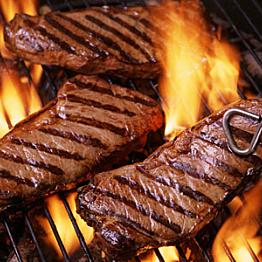 Steak dinner in Christchurch