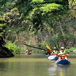 Cambodia Kayak Village Tour