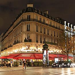 Going to restaurants in Paris