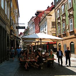 Dinner in Ljubljana