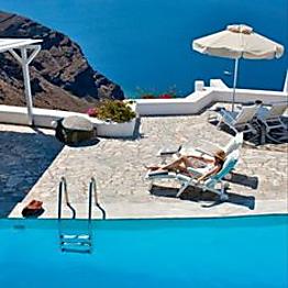 One Night in Santorini