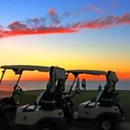 Sunset Golf Cart Tour