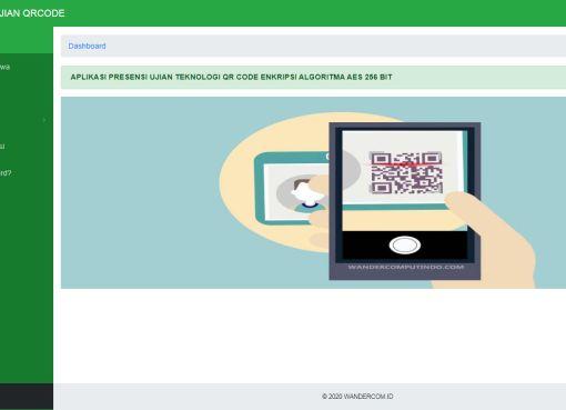 Aplikasi Absensi Mahasiswa Dengan QRCode Enkripsi AES 256