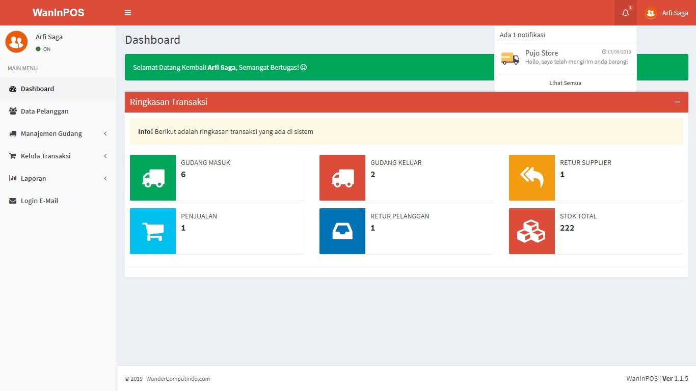 Aplikasi Inventory Gudang dan Penjualan POS